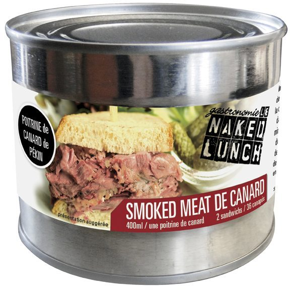 THE DISH: Behold the wonders of smoked duck in a can!