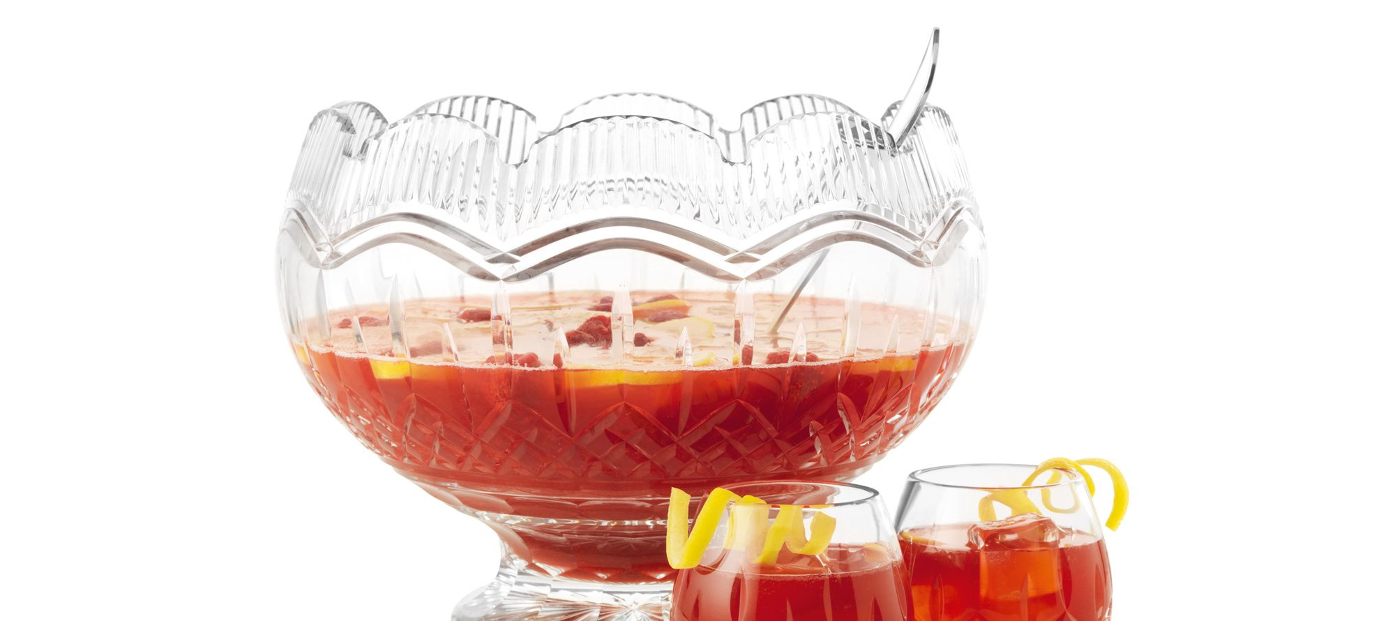 A Crowd Pleaser: Christmas Hibiscus Punch
