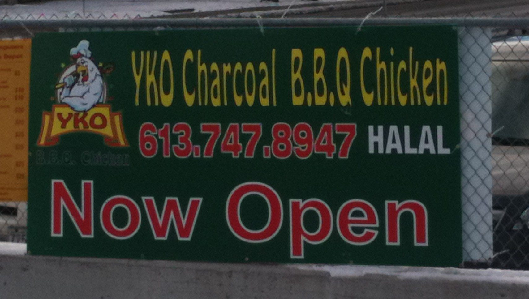 INTRODUCING: YKO charcoal barbecued chicken — rumours confirmed: Ottawa's authentic West African chicken shack is back