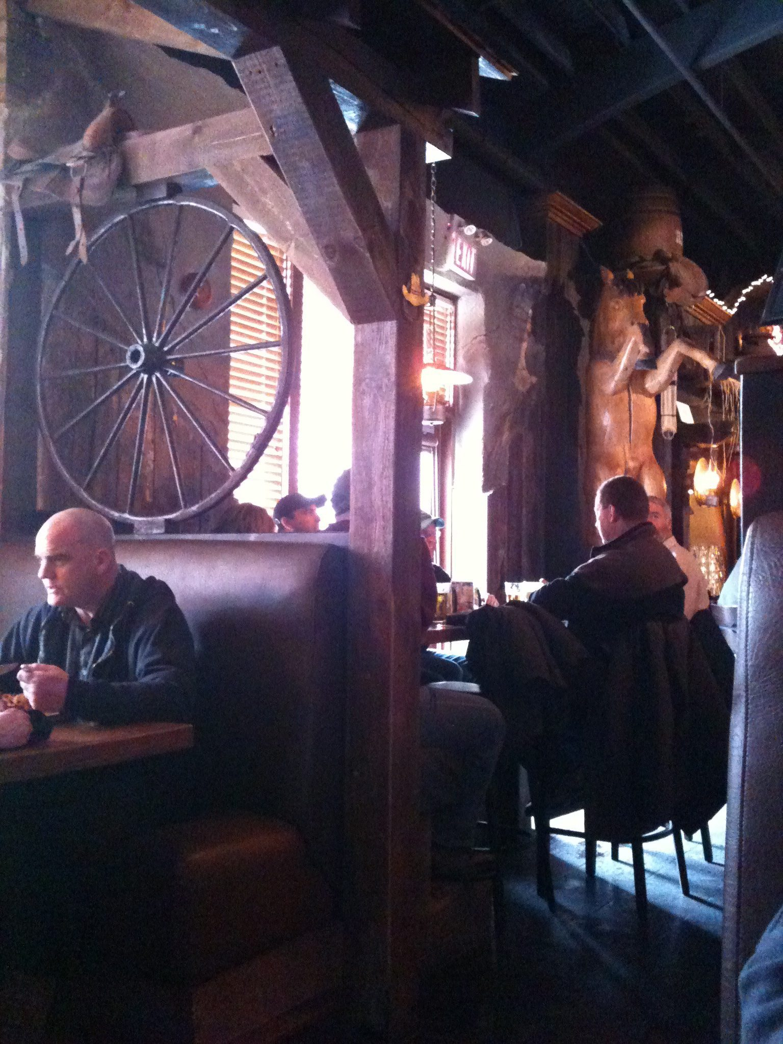 WEEKLY LUNCH PICK: At Crazy Horse your steak is served by cowgirls and cooked by you