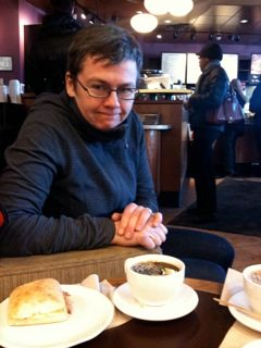 EGGVILLE: An unlikely breakfast with Bridgehead's Tracey Clark