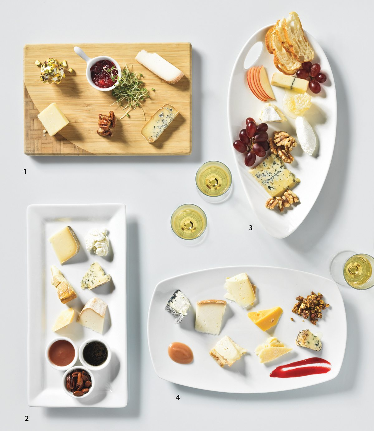 THE DISH: Say cheese! Who's creating the most mouth-watering cheese plate?