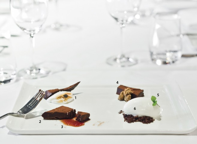 Broken Truffle dessert. Photography by photoluxstudio.com - Christian Lalonde