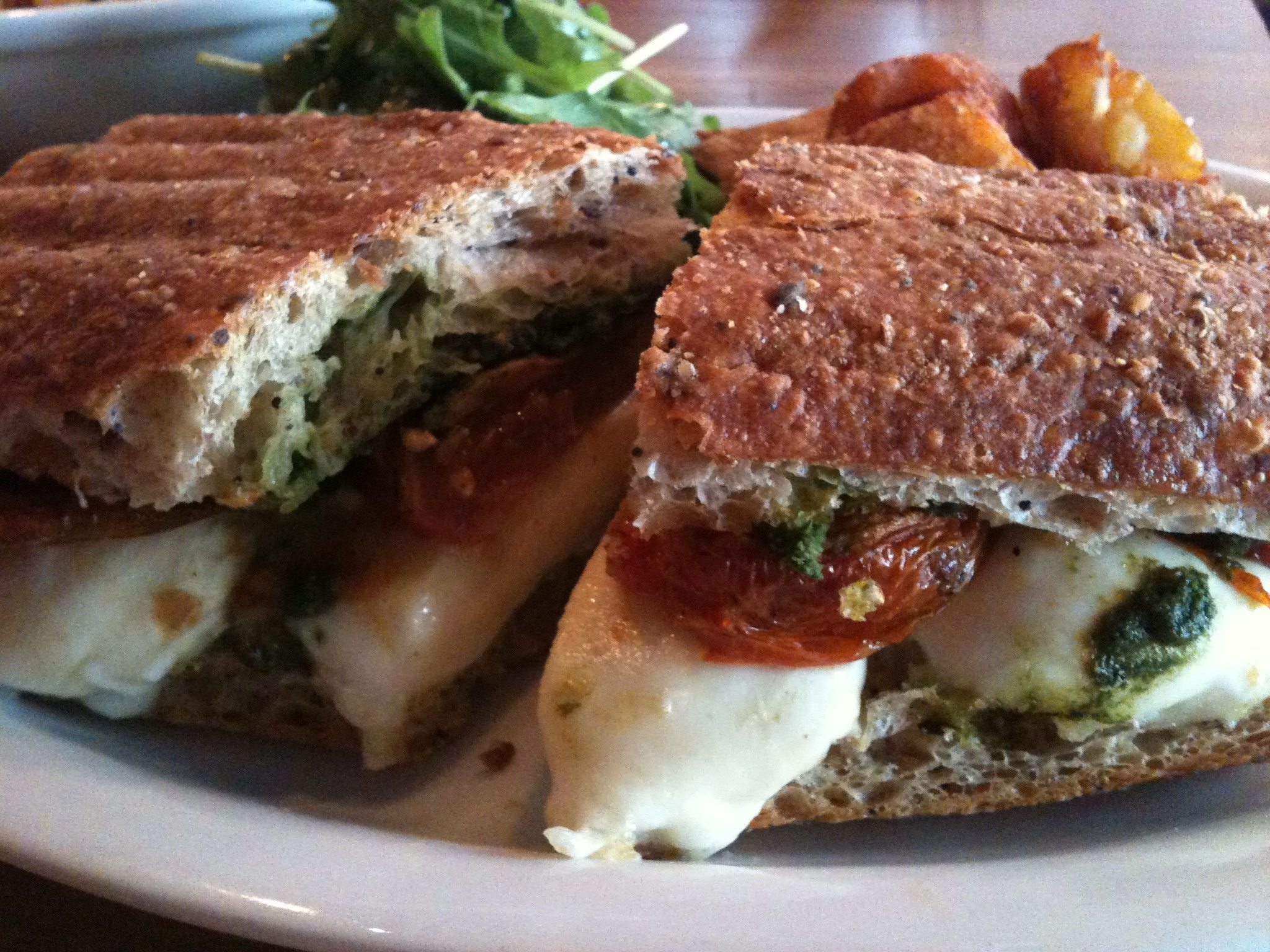 WEEKLY LUNCH PICK: Town's Fior di Latte sandwich (translation: really good grilled cheese)