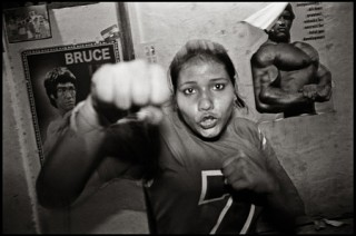 "From ""The Boxing Ladies"" series by David Trattles"