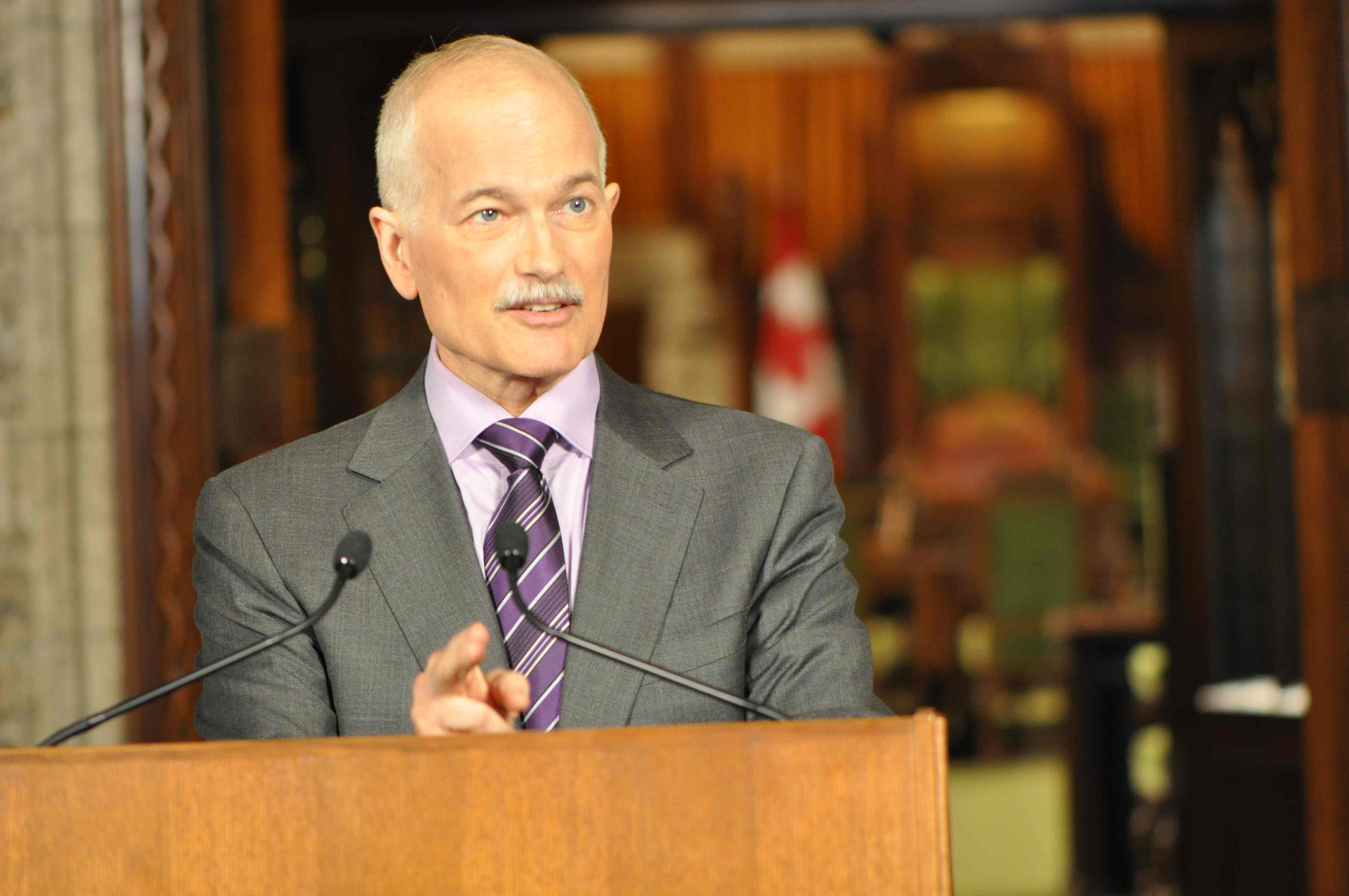 "POLITICS CHATTER: Analyzing ""Happy Jack"" Layton's future prospects"