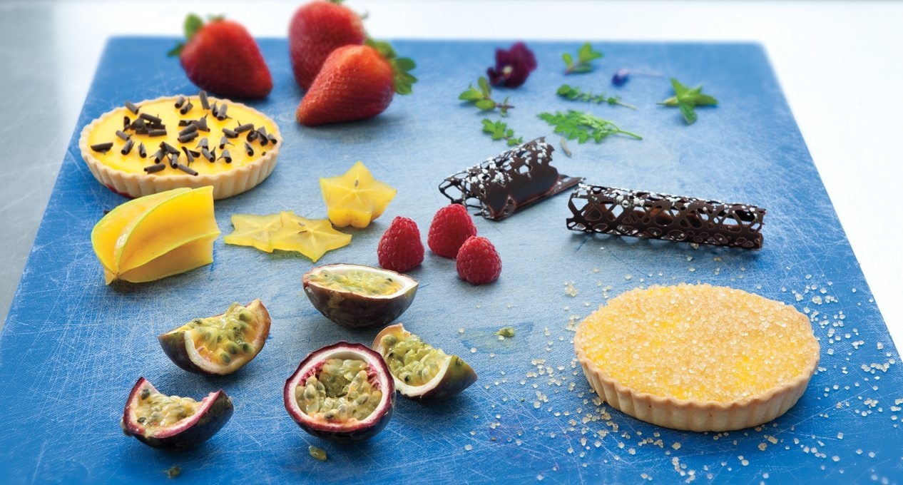 THE DISH: In praise of Les Fougères' passion fruit tart