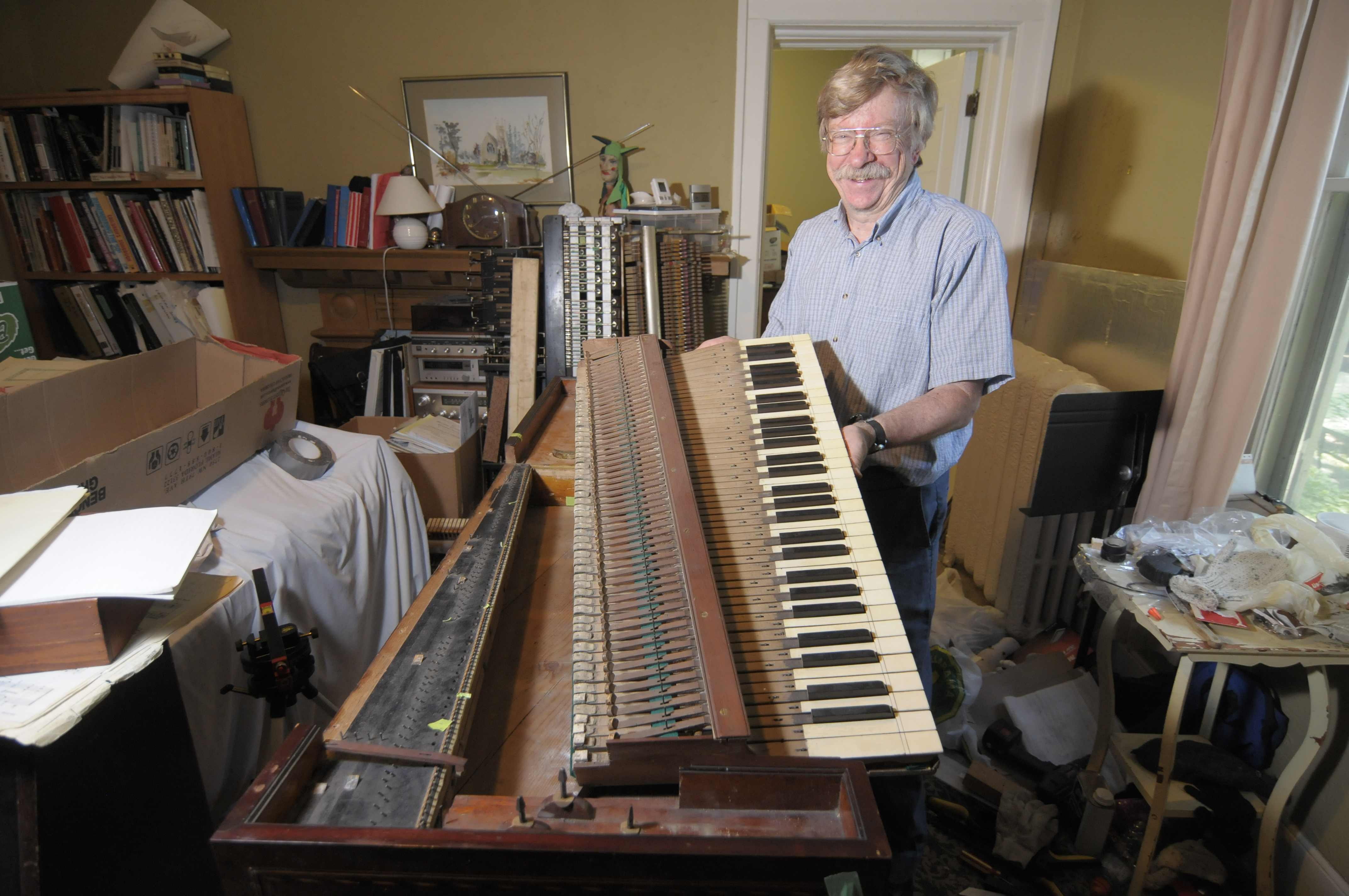 ARTFUL BLOGGER: On July 25, you, too, can hear the 1777 piano that was once 'fit for a queen'