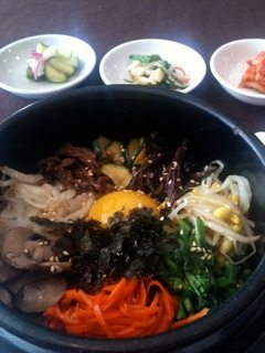 WEEKLY LUNCH PICK: Le Kim Chi's bibimbap and black sesame ice cream