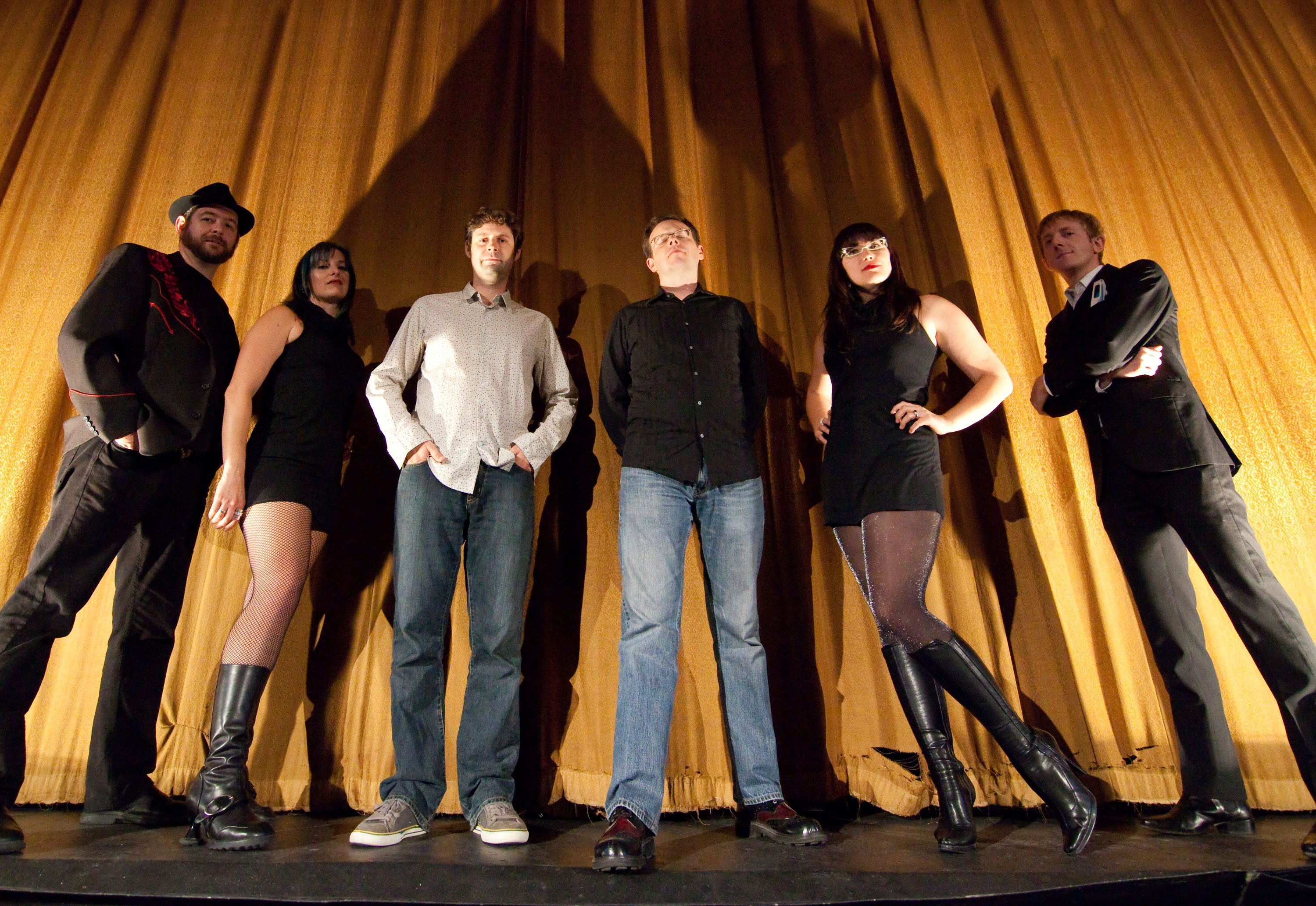 SOUND SEEKERS: The Reverb Syndicate vibrates with cinematic impressions