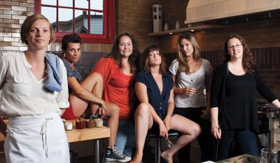 FOOD: Stirring the Pot. Six female power players on the food scene chat about what life's really like under the hood