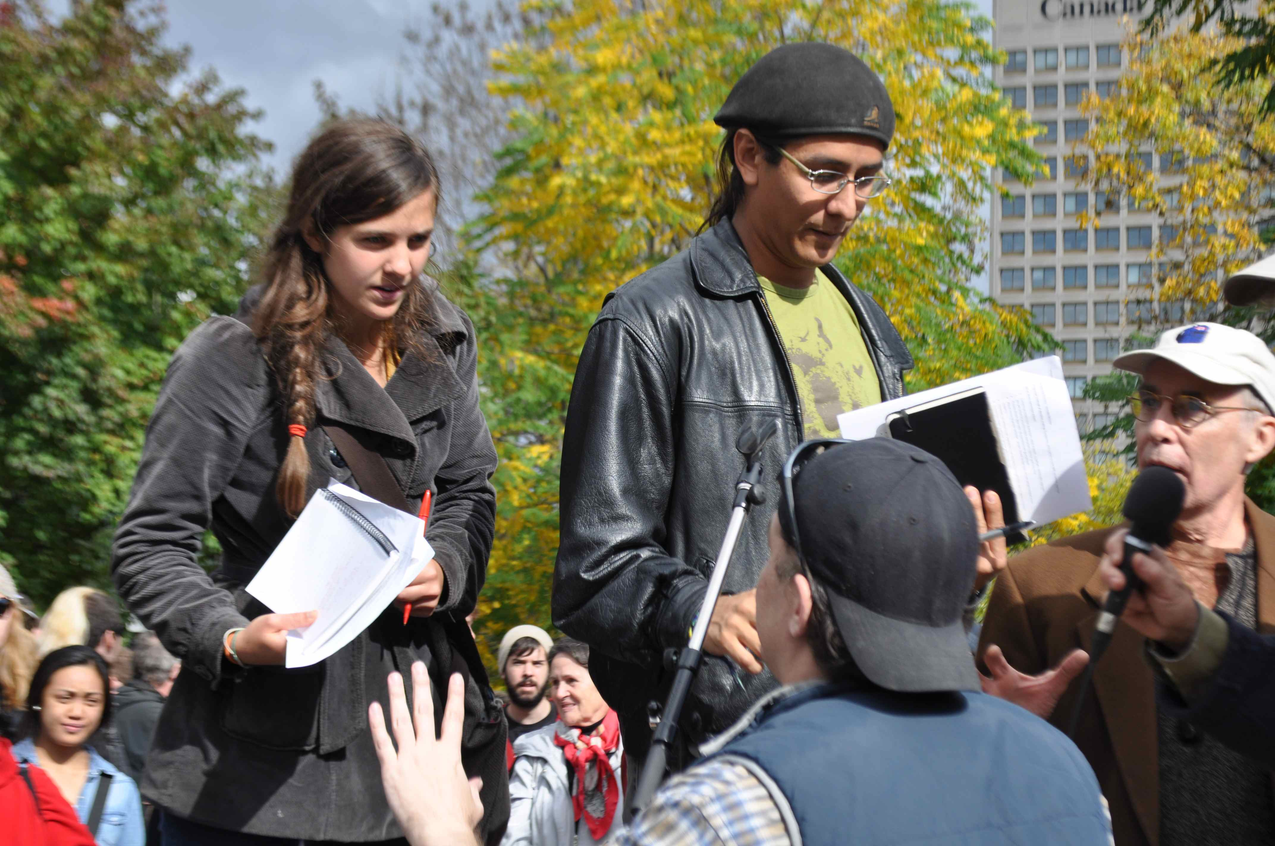 POLITICS CHATTER: Occupy Ottawa was a misfire… but maybe the timing's just off.