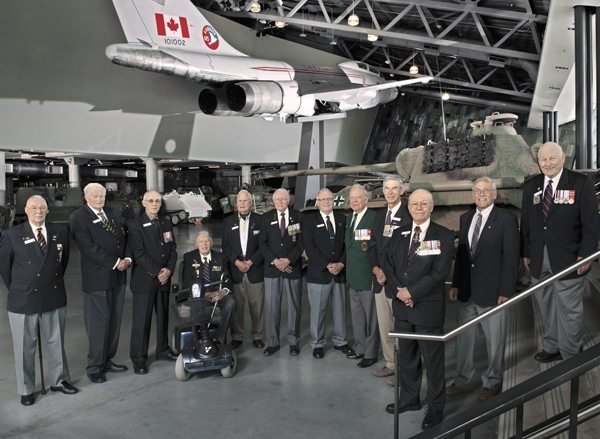 LEST WE FORGET: On patrol with a group of veterans who volunteer at the Canadian War Museum