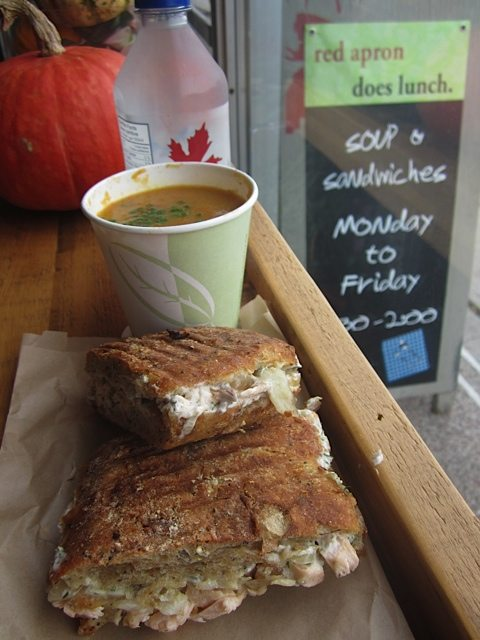 WEEKLY LUNCH PICK: Red Apron's brown bag soup & sandwich