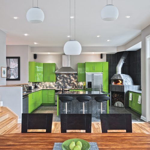 FROM THE PRINT EDITION: Restaurant owner Stephen Beckta's new kitchen combines a whimsical colour scheme with some serious appliances