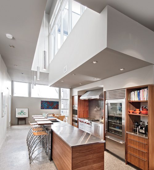 FROM THE PRINT EDITION: A collaboration with a cabinetmaker results in a one-of-a-kind kitchen