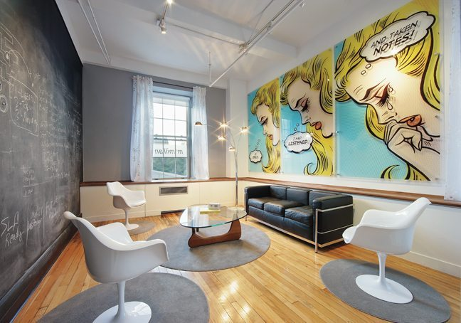 AN OFFICE WE LOVE: McMillan ad agency's impressive renovation is inspired by Mad Men