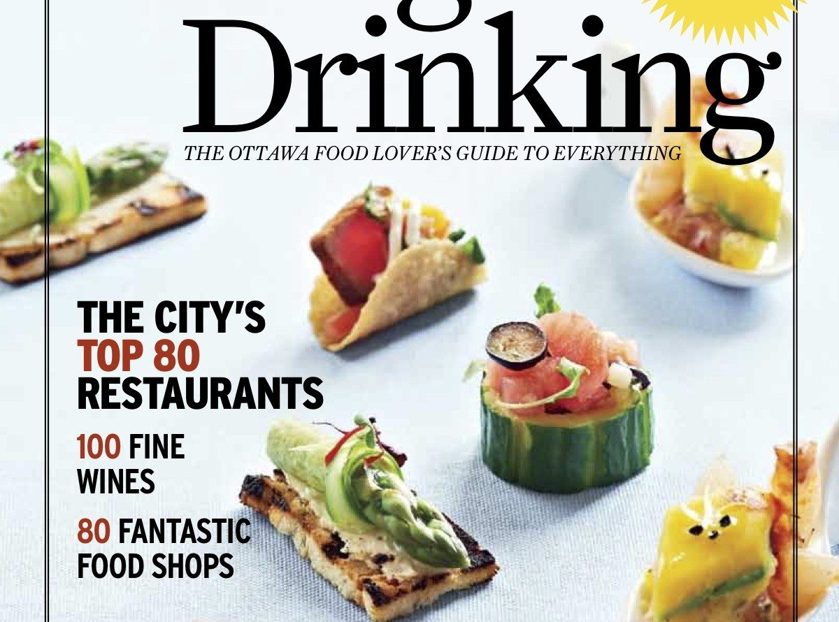 Launching! Ottawa Magazine's Eating & Drinking guide hits newsstands April 19