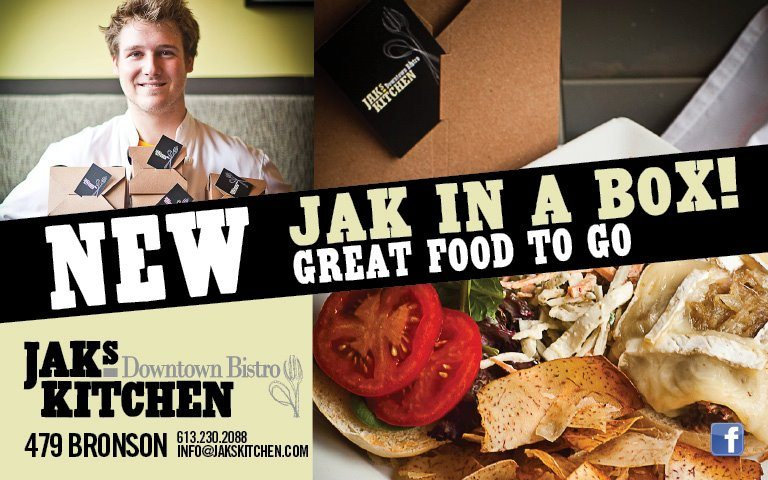 FOOD BUZZ: Jak's Kitchen battles Bronson Ave. construction with Jak In A Box take-out meals