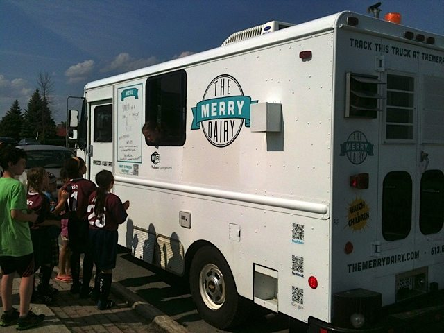 INTRODUCING: The Merry Dairy frozen custard truck rolls into town