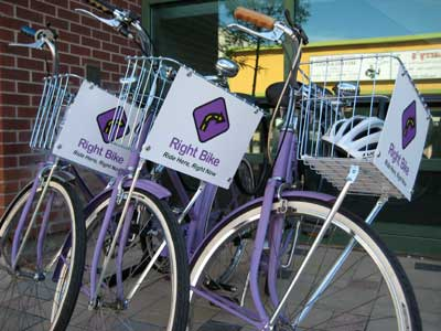WEB EXCLUSIVE: Talking about purple bikes and street-level interaction with the newly launched RightBike program
