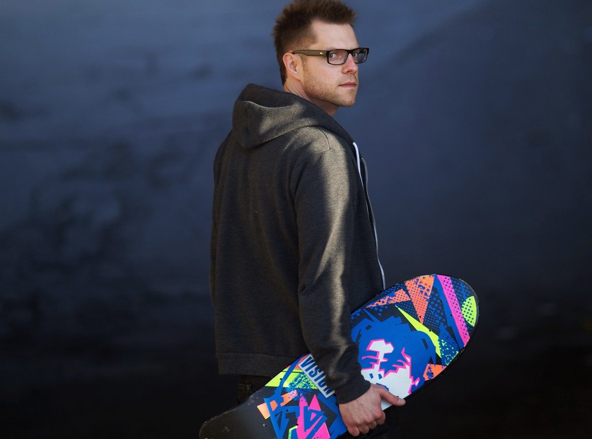 STYLIN': Appearing at Westfest this weekend…. Peter Joynt talks skateboards, rapping, and style