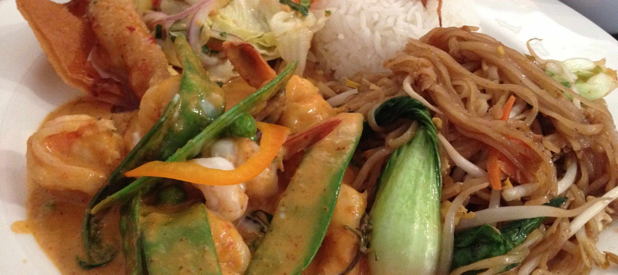 "SPICE IT UP: In praise of the ""lunch special combos"" at Som Tum Thai"