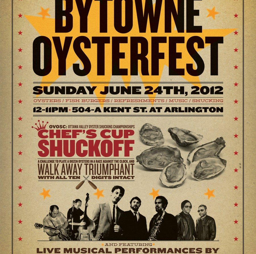 FOOD BUZZ: Whalesbone's 5th Annual Bytowne Oysterfest June 24, noon – 11pm