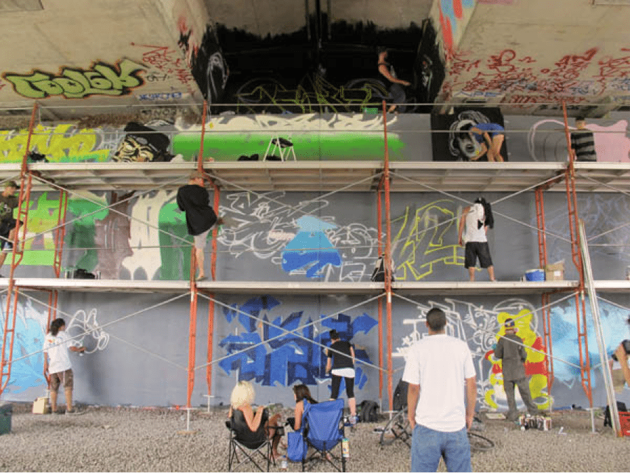 SOUND SEEKERS: Rhyming, DJing, breakdancing, and graffiti — House of Paint launches its festival lineup Friday