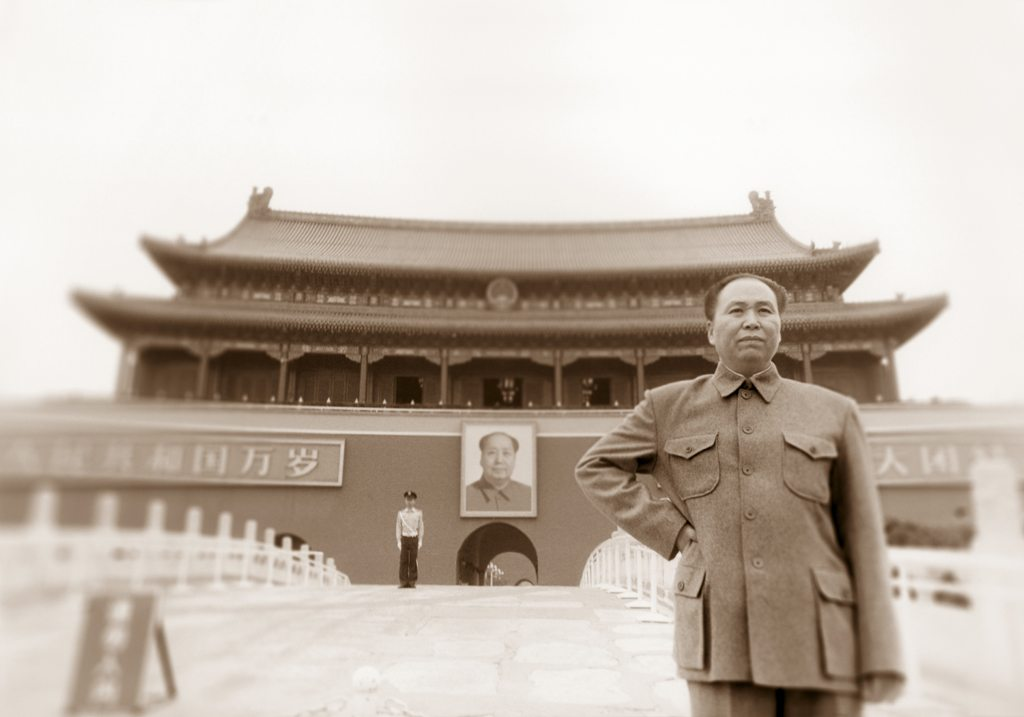 THE ARTFUL BLOGGER: Mao Zedong is alive and well and hanging out in Gatineau