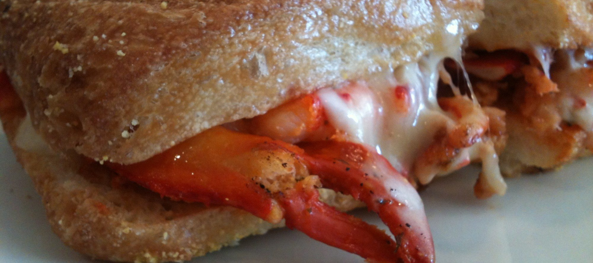 "WEEKLY LUNCH PICK: Lobster melt and an ""affogato"" at Merivale Fish Market's offspring, Luigi Panini"