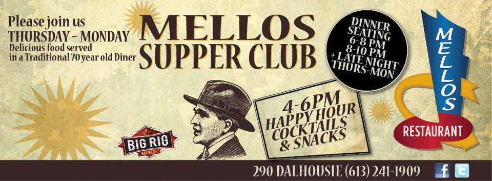 RESTAURANT TAKEOVER: Mellos Supper Club aims to transform a heritage diner into a nighttime hotspot