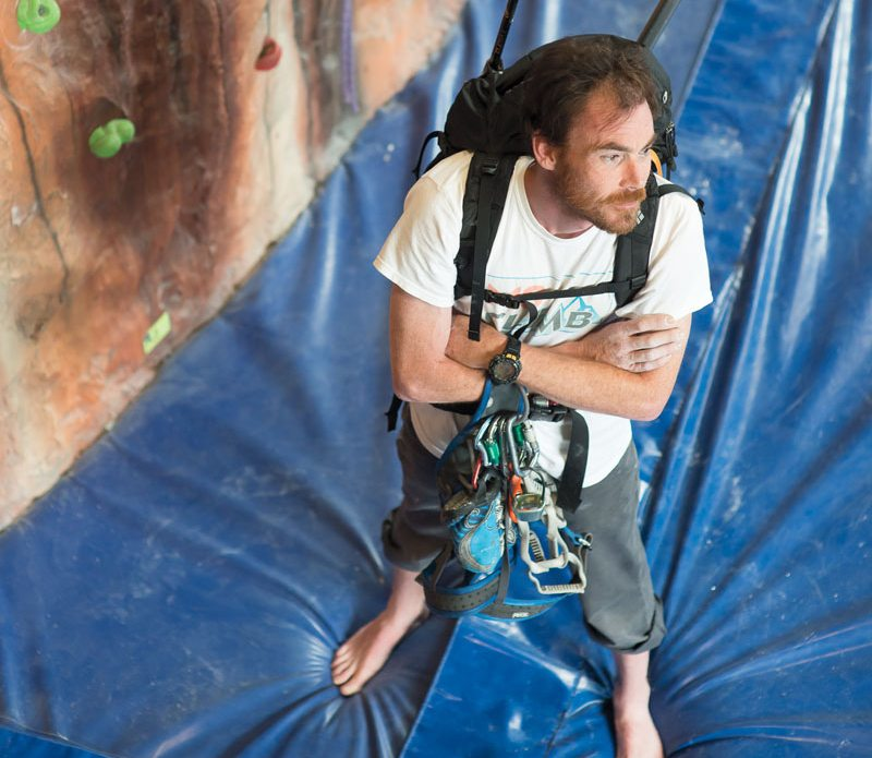 SOCIAL CLIMBER: MS sufferer Martin Laniel hikes to Everest's base camp to raise money for the cause