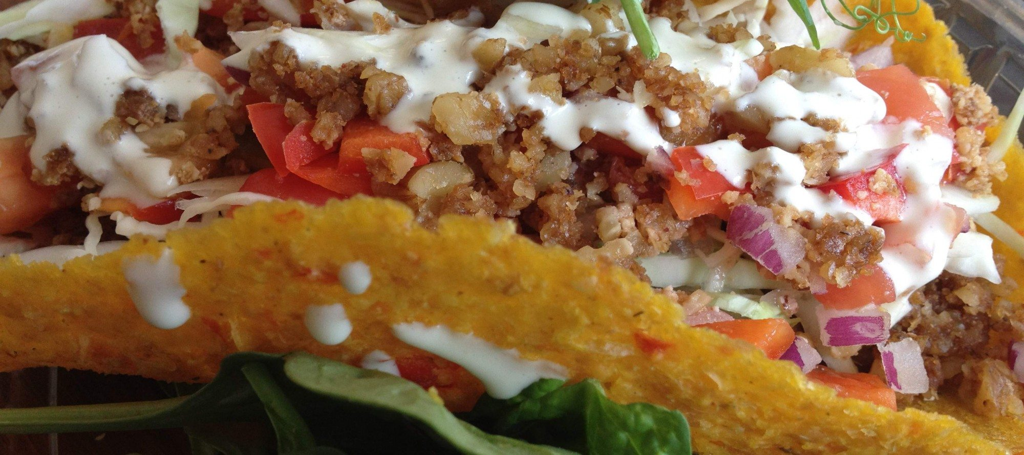 WEEKLY LUNCH PICK: Simply Raw Express provides an innovative take on the trendy taco