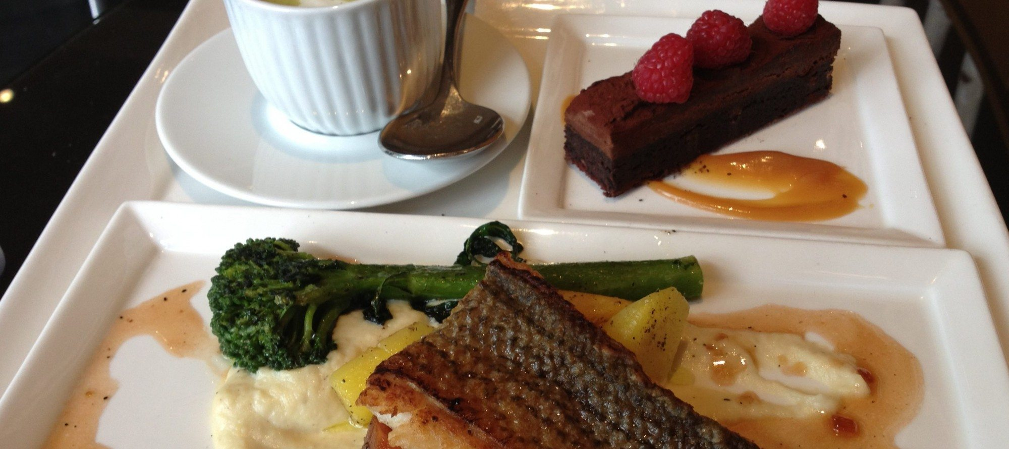 WEEKLY LUNCH PICK: Three courses, one tray at Brookstreet Hotel's Options Lounge