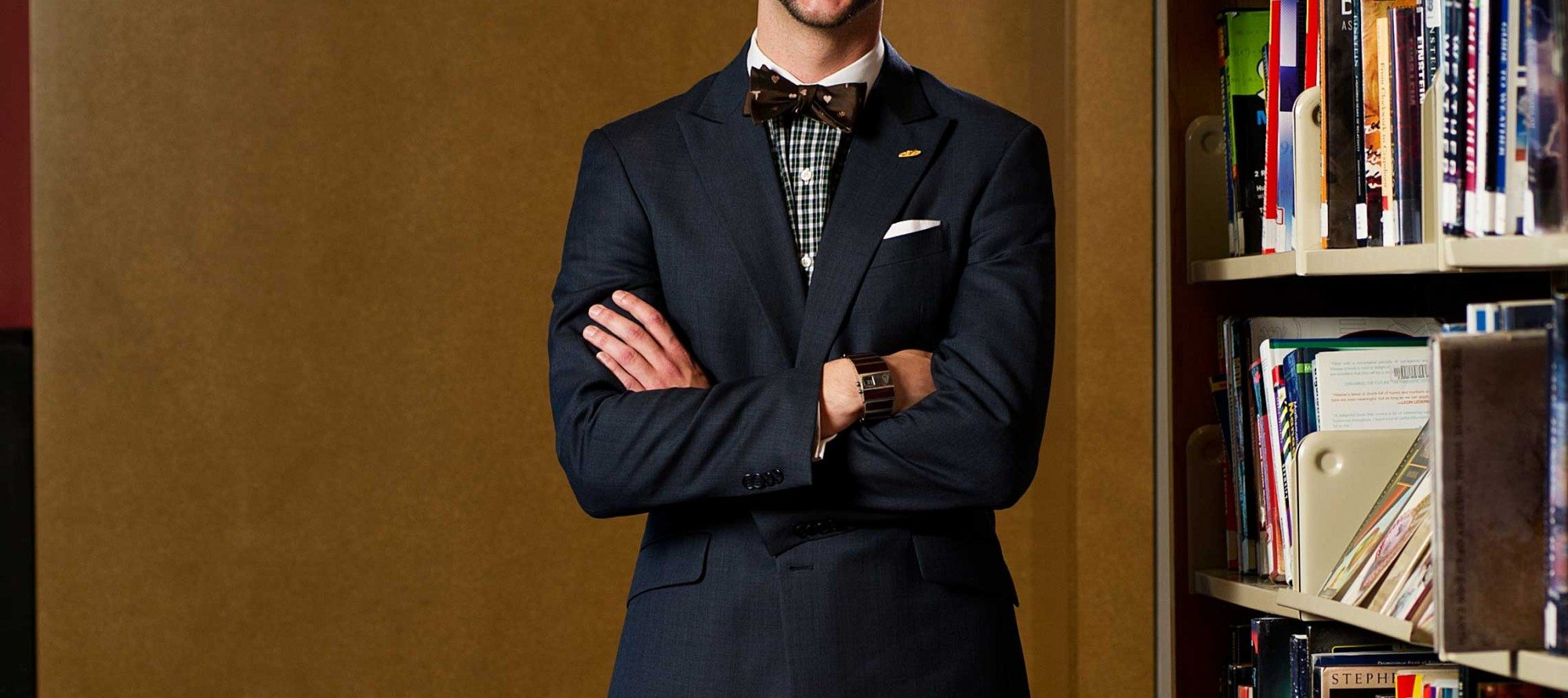 MY LOOK: Talking personal style with dapper aspiring librarian Kevin Wollenschlager