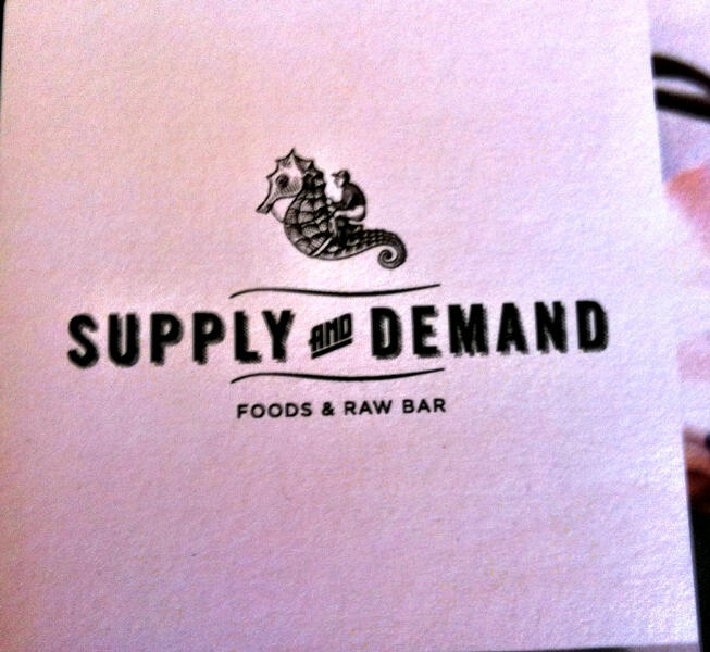 RESTAURANT BUZZ: Chef Steve Wall's raw bar Supply & Demand has found a home in Wellington Village
