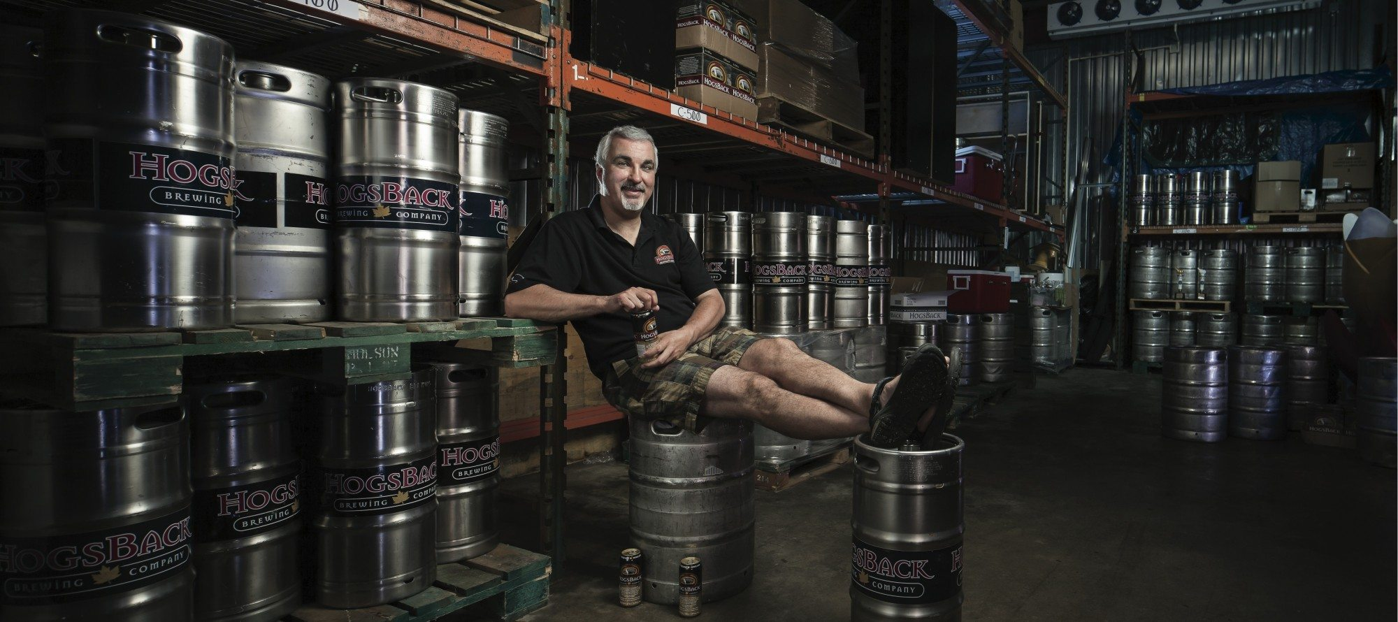 BEER RUN: How HogsBack Brewing Co.'s Paige Cutland got into the biz