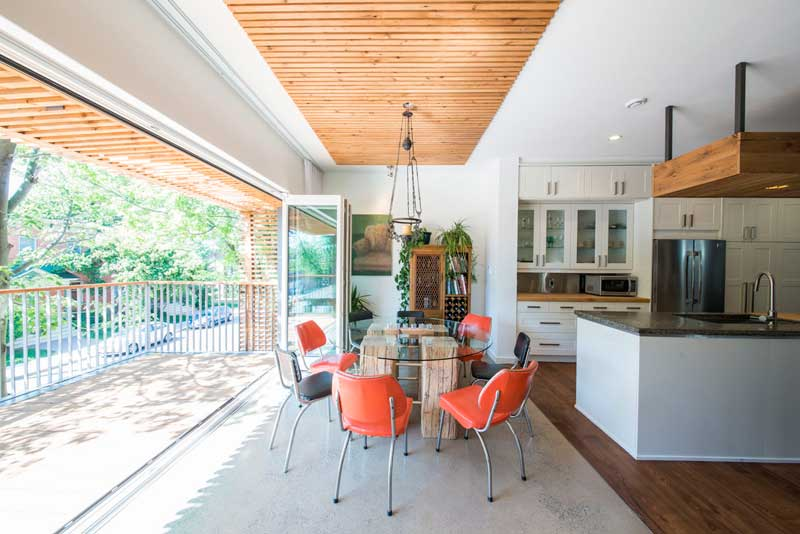 GREEN DESIGN: A green builder guts his own home as a passion project, yielding spectacular results