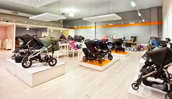GAINING GROUND: Checking out Fab Baby Gear's flash new digs