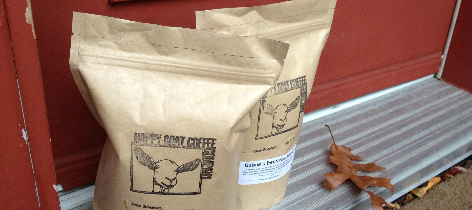 HAPPY CHRISTMAS TO ME! Happiness is… a kilo of Happy Goat coffee beans delivered right to your door