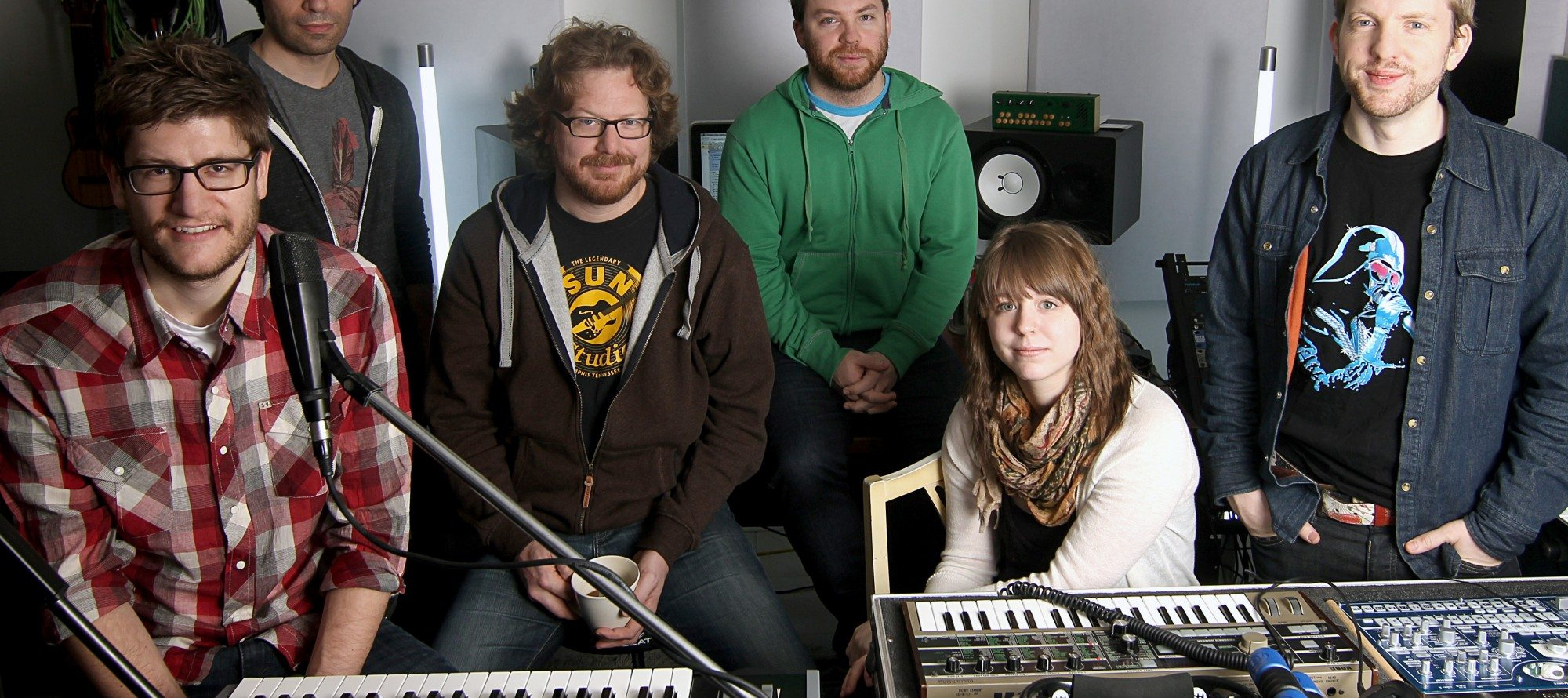 SOUND SEEKERS: Recording news! Producer Laurence Currie comes to the capital to work with local band Fevers