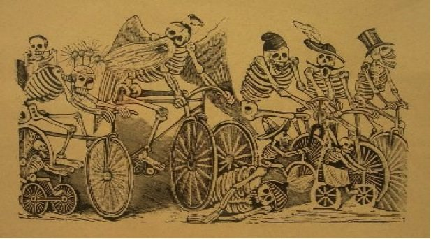 ARTFUL BLOGGER: Mexican artist José Guadalupe Posada's skeletal political cartoons come to Hull