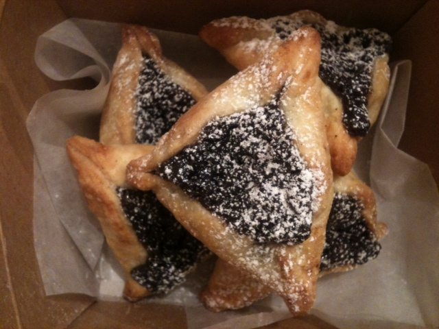 SHAWNA'S PICKS: Bread & Son's Hamantaschen — fruit-filled triangular cookies for Purim — or anytime