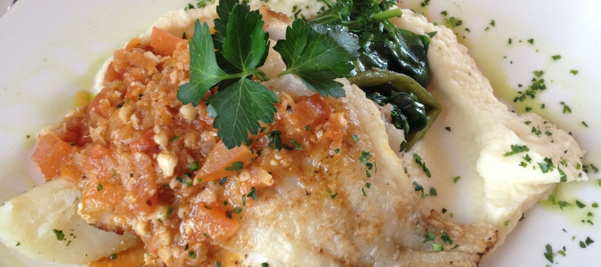 WEEKLY LUNCH PICK: New ownership, same delicious roasted cod at El Meson