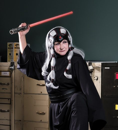 COMICCON WARMUP: Cindy Harper plays dress-up for charity in Star Wars gear