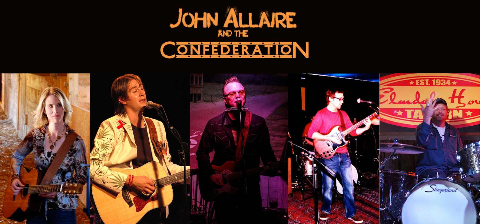 SOUND SEEKERS: John Allaire and the Confederation bring strings and sticks and other skills to Irene's Pub