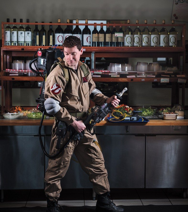 COMICCON WARMUP: Meet the ultimate Ghostbusters superfan