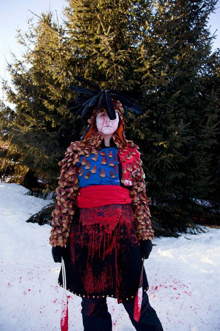 ARTFUL BLOGGER: Meryl McMaster's stunning costumed self-portraits steal the show again and again