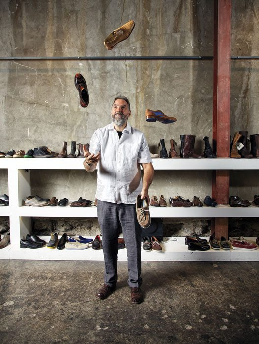 "MY LOOK: Restaurateur, shoe salesman, and ""man about town"" Stephen Flood waxes poetic about footwear"